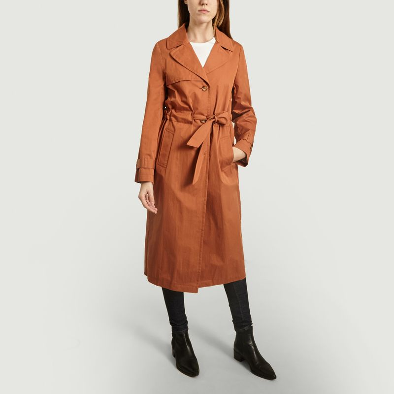Trench Beauvoir ceinturée - Trench And Coat