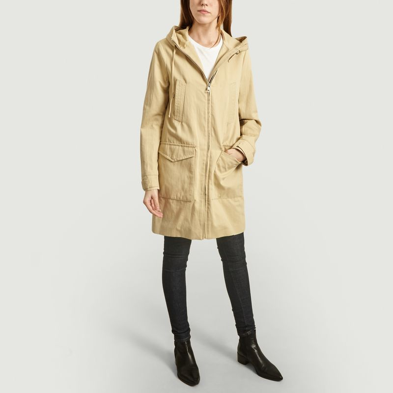 Parka Hossegor à capuche - Trench And Coat