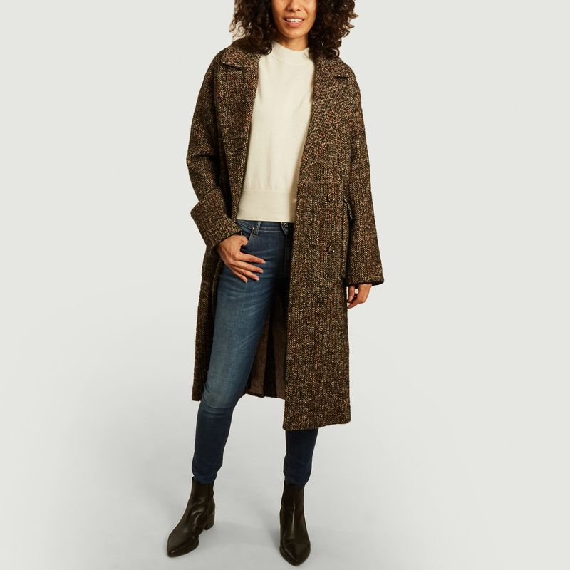 Manteau Valence en Tweed  - Trench And Coat