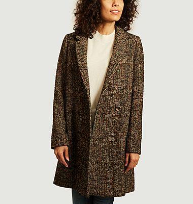 Manteau Vesoul en Tweed
