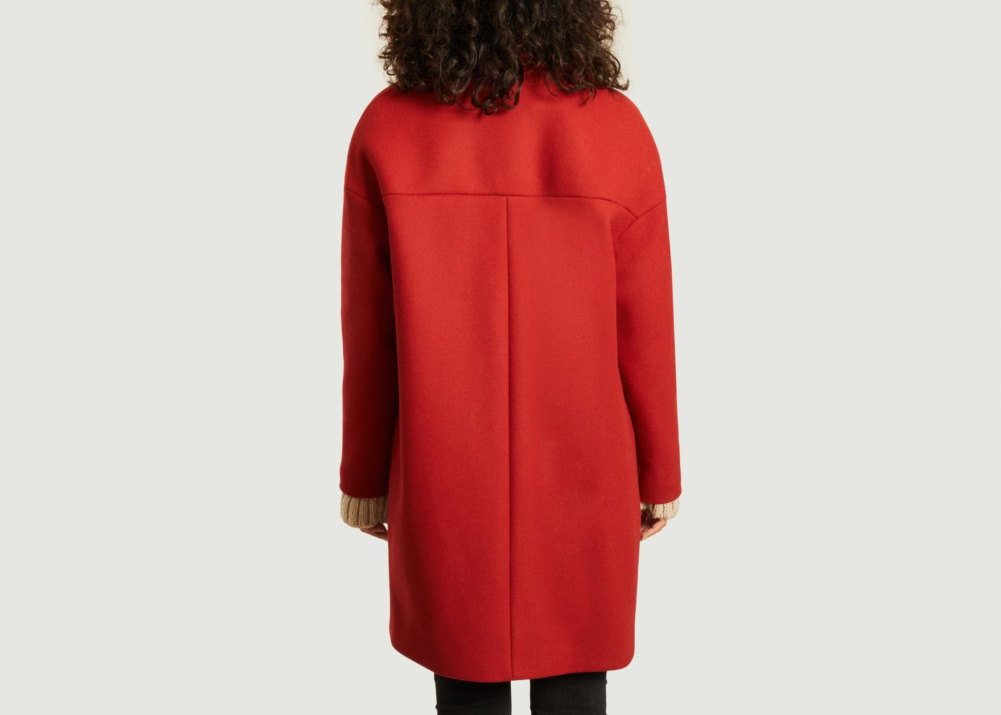 Manteau Chablis Rouge - Trench And Coat