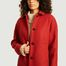 matière Manteau Chablis Rouge - Trench And Coat