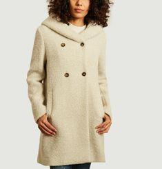 Manteau mi-long à capuche Ricoux