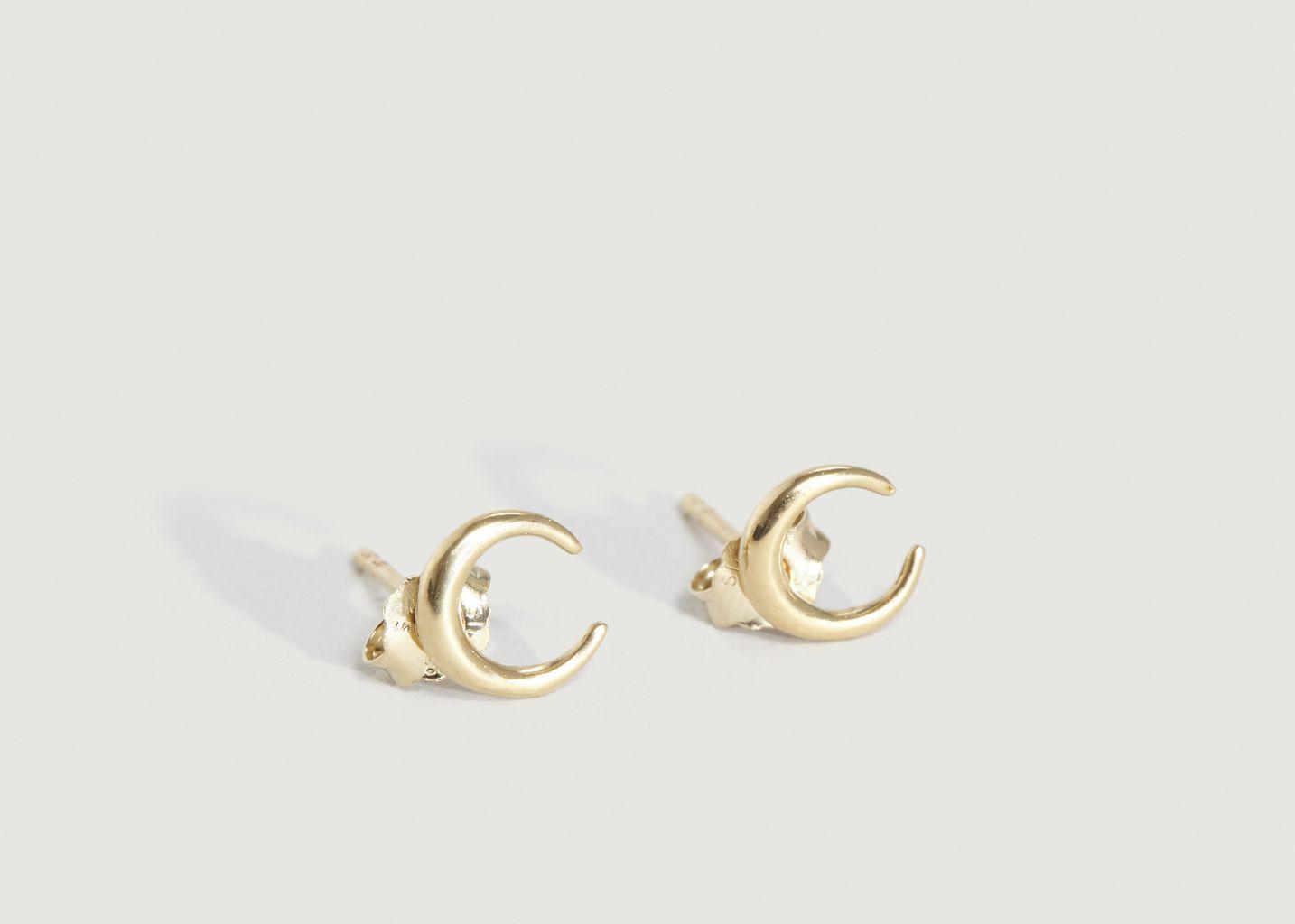 Boucles d'Oreilles Crescent - Trois Petits Points