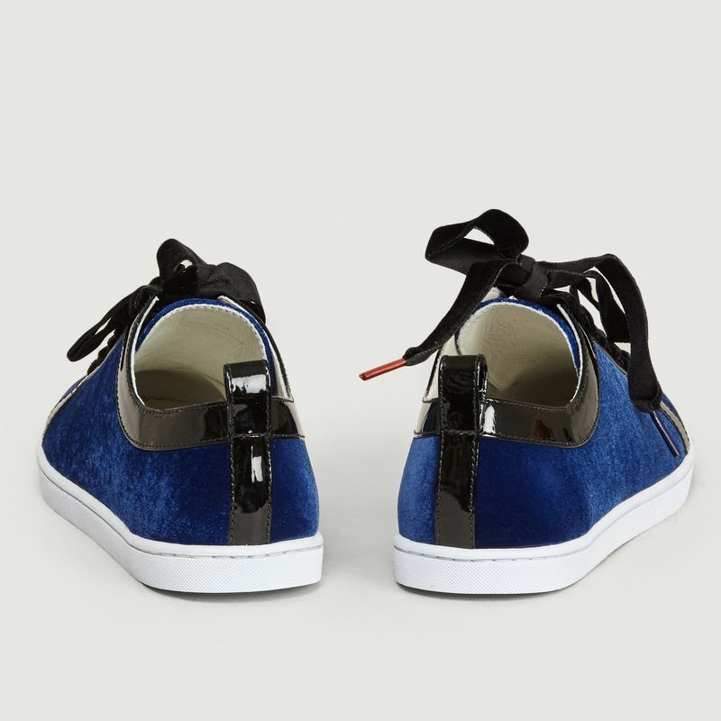 Sneakers Boubou Velours - Twins For Peace