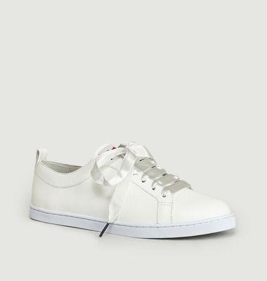 Sneakers En Cuir Boubou