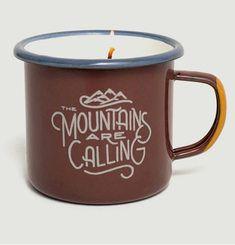 Bougie Mug Mountains Are Calling