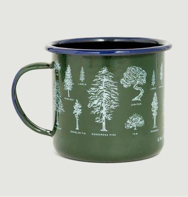 Mug En Acier Émaillé Evergreen