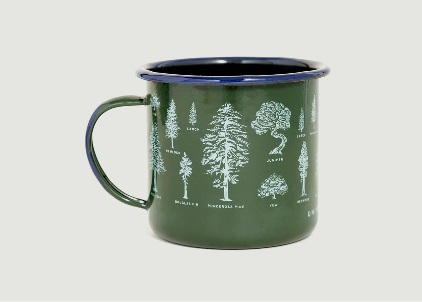 Mug En Acier Émaillé Evergreen - United by Blue