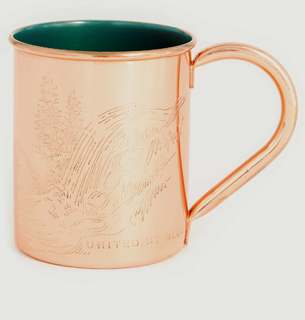 16oz Cuivre United Gobelet Pines By BlueL'exception Two OkZTPXiuwl