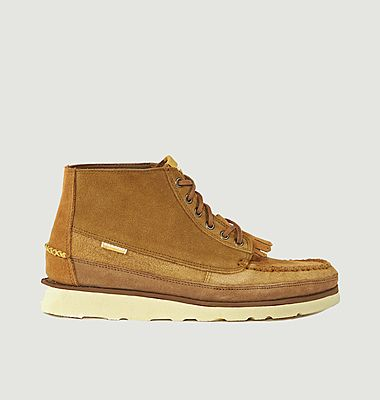 Chaussures cuirs Universal Works x Sebago Cayuga