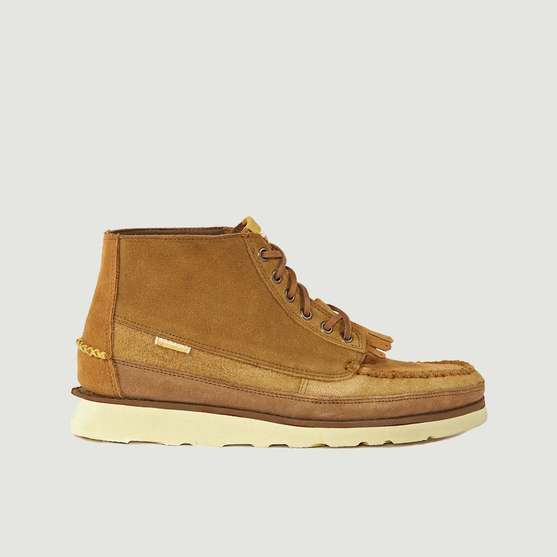 Chaussures cuirs Universal Works x Sebago Cayuga - Universal Works