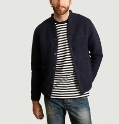 Cardigan Wool Fleece