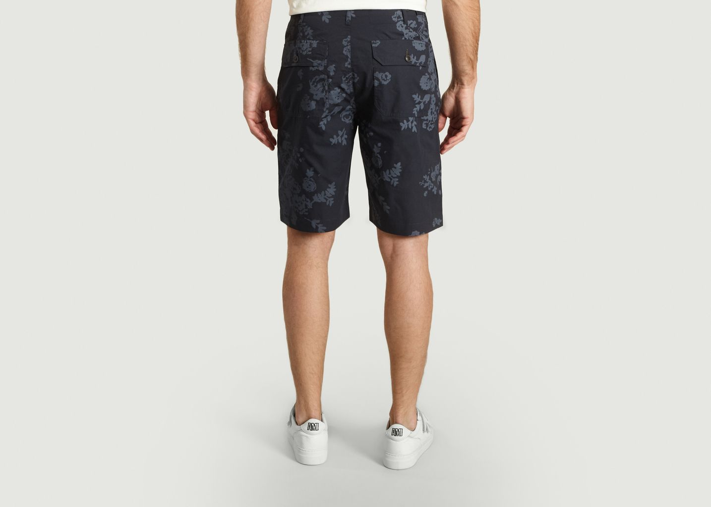 Loose Short Flower Print - Universal Works