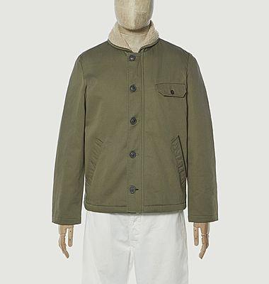 N1 boxy fit cotton jacket