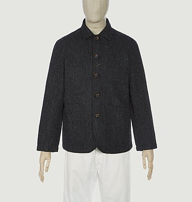 Bakers Chore herringbone tweed jacket