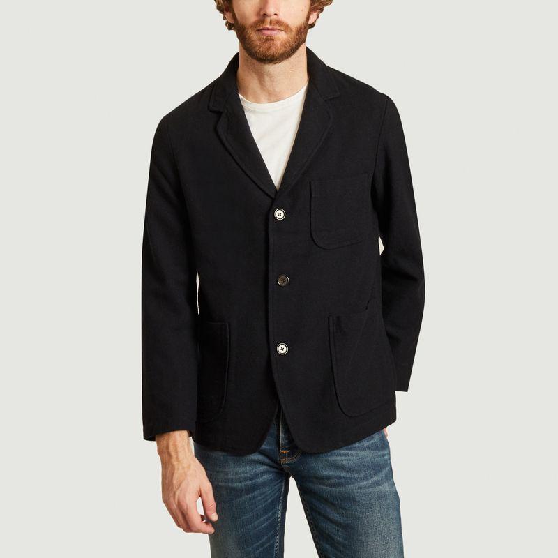 Veste en lainage à 3 boutons - Universal Works