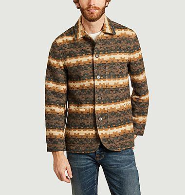 Bakers Chore Urban Mex woolen patterned jacket