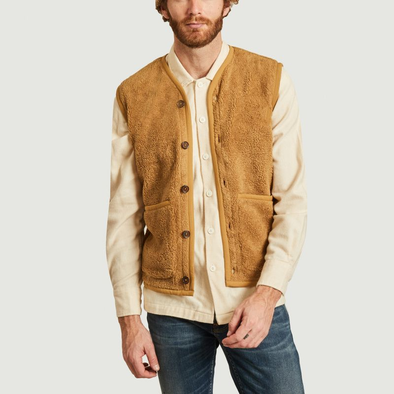 Gilet polaire Lancaster Mountain - Universal Works