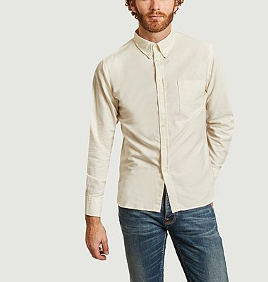 Oxford cotton fitted shirt