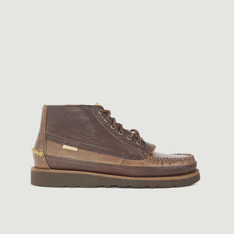 Chaussures cuirs Universal Works x  Sebago Seneca - Universal Works
