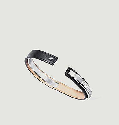 Bracelet cuir Uraeus
