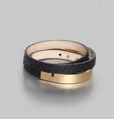 U-Turn Triple Bracelet