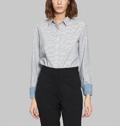 Jim Lalique Stripes Shirt