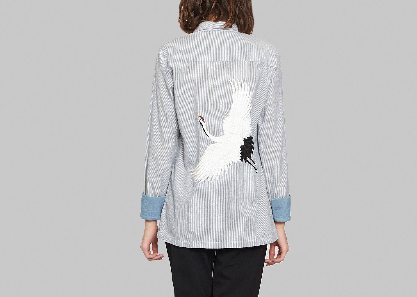 Chemise Jim Lalique Stripes - Valentine Gauthier