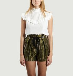 Goldin Ruffle Top