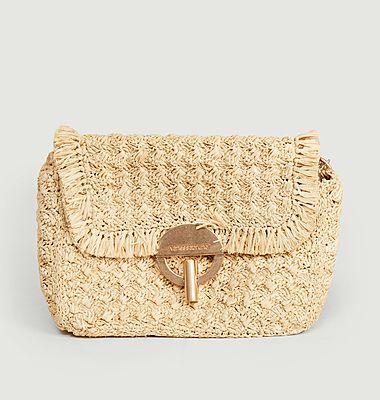 Mini sac Moon Raphia