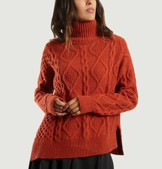 Jaira Cable Knit Jumper