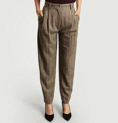 Soldes Pantalon à Pinces Femme Hiver 2019  f0b496a9b63