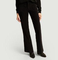 Pantalon Flare En Velours Dompay