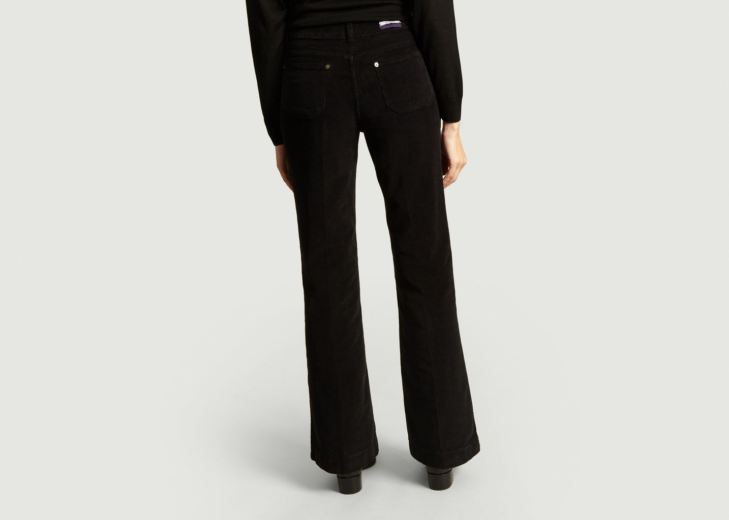 Pantalon Flare En Velours Dompay - Vanessa Bruno