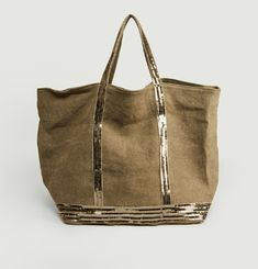 Large Linen Shopper