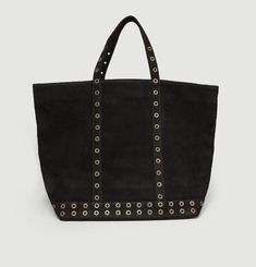 Medium+ Suede Eyelet Shopper