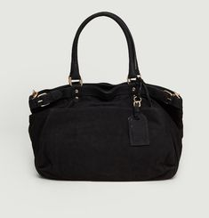 Moon Suede Handbag