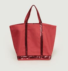 d67c09d77a Sac Cabas Moyen + En Toile Et Sequins. smart choice. Vanessa Bruno
