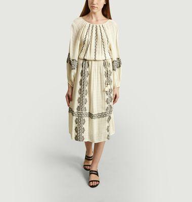 Robe Midi Manches Longues Nola