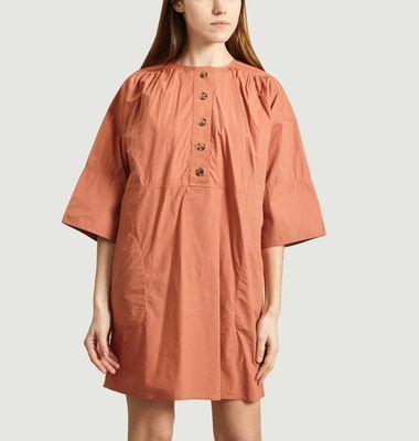 Robe Ceinturée En Coton Naomi