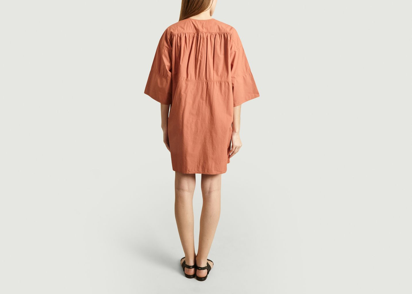 Robe Ceinturée En Coton Naomi - Vanessa Bruno