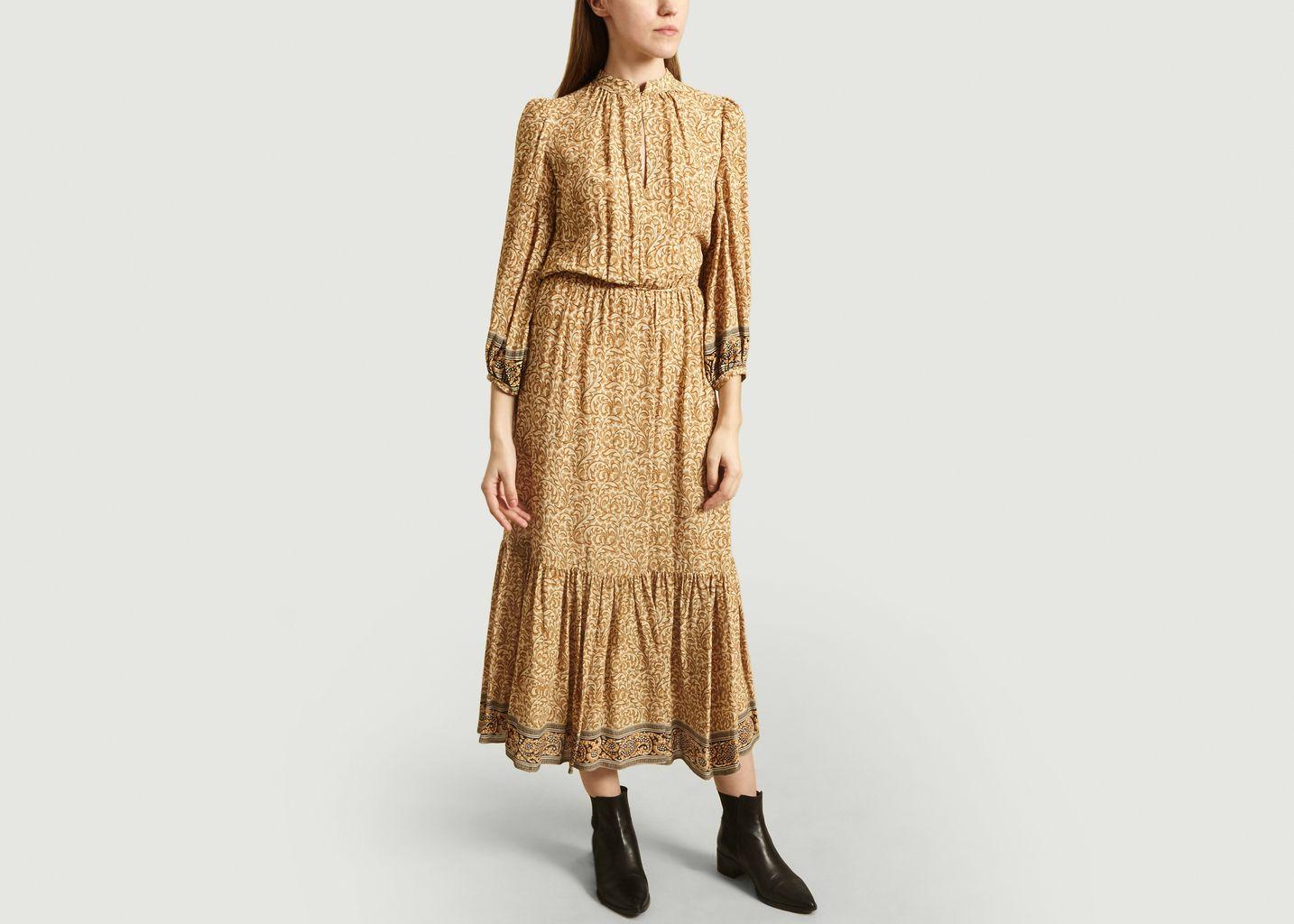 Noisette Long Dress Ochre Vanessa Bruno L Exception