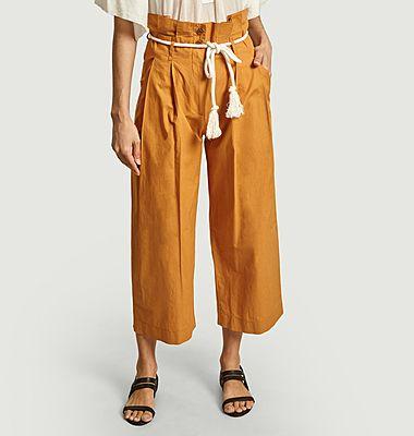 Pantalon taille haute Nardo