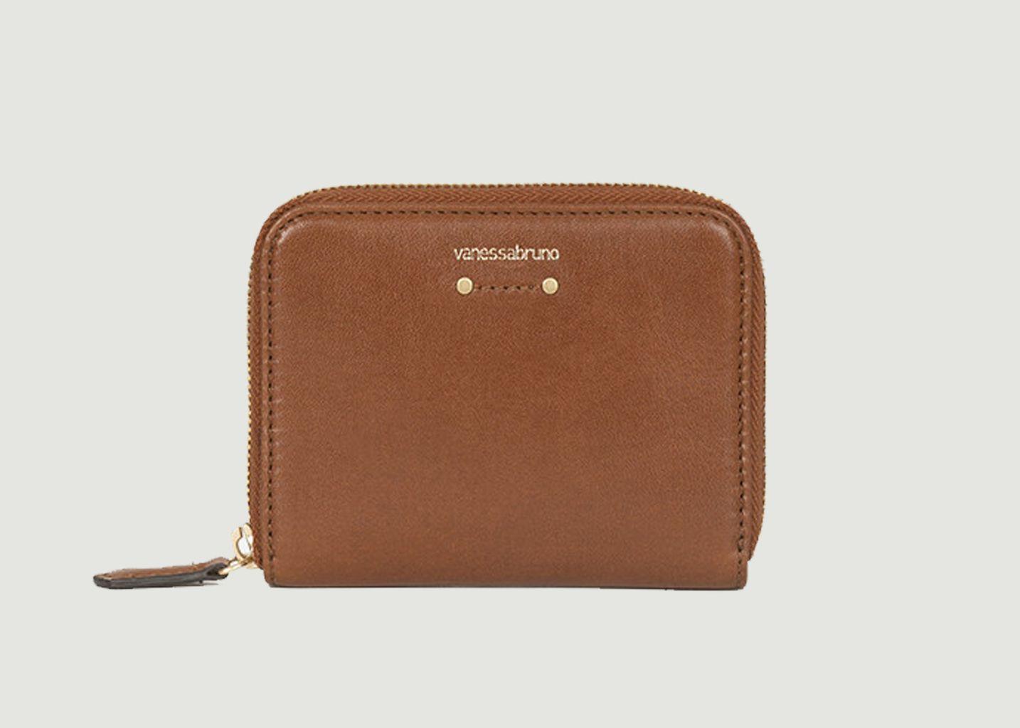 Petit portefeuille en cuir  - Vanessa Bruno