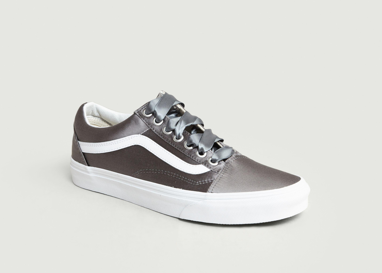 Old VansL'exception Satin Skool Sneakers Gris QhrxCtsdB