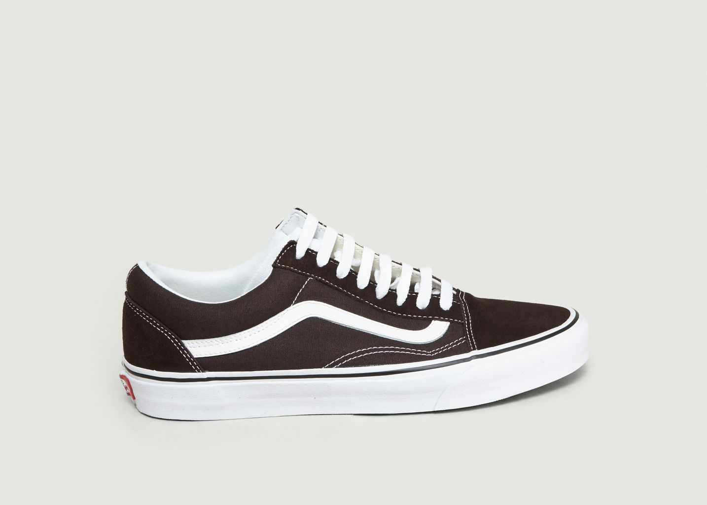 Daim Soldes Toile Sneakers Theory Skool Et En Chocolat Old Color SFw6EqCxw