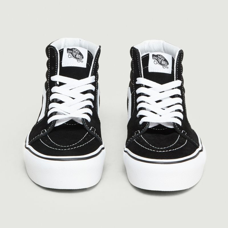 Sneakers Montantes En Daim SK8 HI Platform 2.0 Noir Vans | L