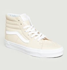 Leather SK8 HI Trainers