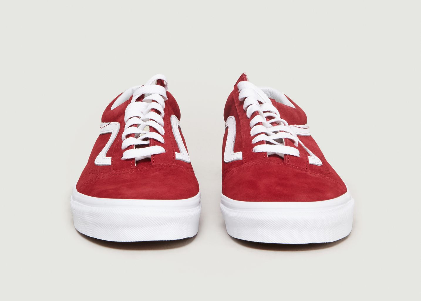9953dfcc33 Old Skool Suede Trainers Red Vans